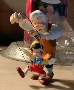 Pinocchio and Geppetto ~ Hallmark Keepsake ~ 1999