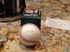 Reggie Jackson autograph baseball AFL