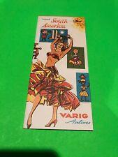 Varig Airlines South America Travel Brochure Vintage