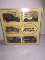 Matchbox Models Of Yesteryear 1982 Limited Edition Pack Of 5 Models