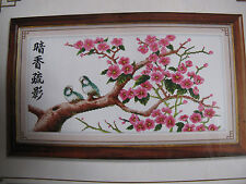 Birds and Plum Blossom Chinese Painting cross stitch kit