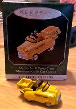 Kiddie Car 1998 Murray Dump Truck Miniature Hallmark New box Blue, Die Cast