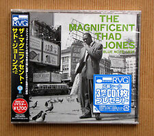 Thad Jones , The Magnificent Thad Jones ( CD_Japan_Remastering by RVG , 24-bit )