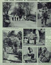 Photo Cash Prize Awards To Brown, Caldwell, Kemp, McGrath, Peetz, Wood 1929