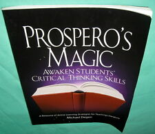 Prospero's Magic Active Learning Strategies for Teaching Literature Degen 2004