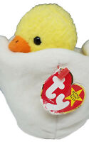 TY Beanie Baby Eggbert The Chick With Tag Retired, DOB: April 10th, 1998