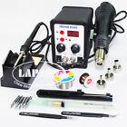 220V-240V 2in1 SMD YOUYUE 8586 Rework Station Hot Air Gun + Solder Iron + 5 Tips