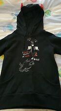 Emily The Strange Devil Horn Hoodie. Size S. BRAND NEW!