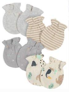 New Gerber Baby Boy or Girl Gender Neutral Organic Mittens