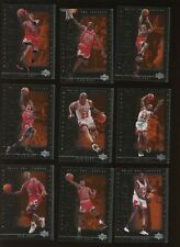 "MICHAEL JORDAN COMPLETE 10 CARD SET ""THE BEST"" 2000 CHICAGO BULLS"