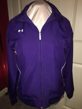 Purple Under Armour Wind Jacket All Season Gear Size XS brand new with tags