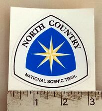 """North Country Scenic Trail sticker decal 3""""x2.8"""""""