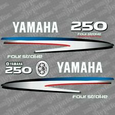 Yamaha 250 four stroke outboard (2002-2006) decal aufkleber addesivo sticker set