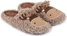 Totes Toasties NOVELTY MULE Mens Indoor House Warm Comfortable Slippers Moose