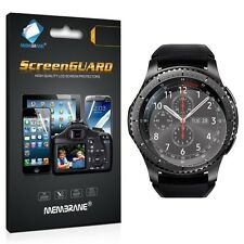 3 x Clear Samsung Gear S3 Frontier  LCD Screen Protector Film Foil Saver