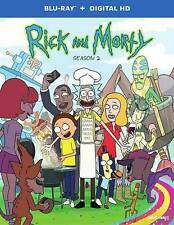 DVD: Rick and Morty: The Complete Second Season [Blu-ray], Various. New Cond.: V
