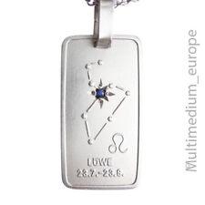 Vintage Silber Anhänger Sternzeichen Löwe zodiac sign silver pendant 🌺🌺🌺🌺🌺
