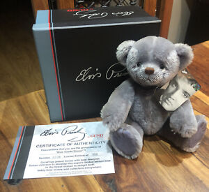 Elvis Presley Limited Edition Bear - Blue Suede Shoes By Gund