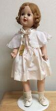 """Horsman ROSEBUD  23"""" Composition/ Cloth Doll   Original Clothes -Tag-Box"""