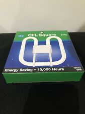 CFL Square 16w 2-Pin Energy Saving Bulb 10000 Hrs 1050 lm 4000k Cool White GR8