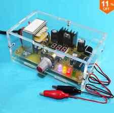 EU 220V DIY LM317 Adjustable Voltage Power Supply Board Kit With Case