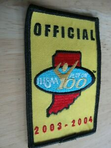 2003-2004 IHSAA(Indiana High School Athletic Association) Official Cloth Patch