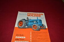 Ford Tractor Fordson Major Diesel Tractor Dealer's Brochure YABE6