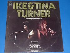 """IKE & TINA TURNER - """"SOMETHING'S GOT A HOLD ON ME"""" - RECORD ALBUM LP 33 RPM"""