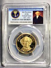 2008-S Martin Van Buren 8th President  Presidential Dollar PCGS PR69DCAM