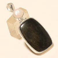 Natural African Snakeskin Jasper Pendant 925 Sterling Silver Fine Jewelry Gifts