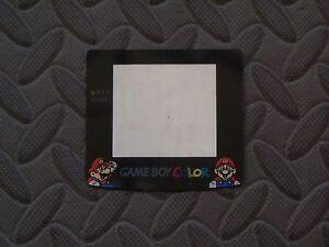 Nintendo Game Boy Color GBC Screen Lens Protector MARIO - NEW