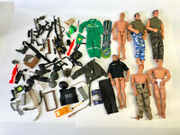 "1990's 12"" Action Man Figure Doll Weapons Accessories GI Joe M&C Formative Lot 8"