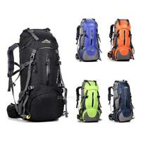 50L Waterproof Climbing Outdoor Travel Backpack Camping Hiking Frame Bag Pack