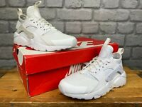 NIKE HUARACHE ULTRA RUN ALL WHITE TRAINERS VARIOUS SIZES CHILDRENS BOYS GIRLS