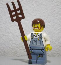 Farmer Alien Conquest W/ Pitchfork 7052 LEGO Minifigure Mini Figure fig