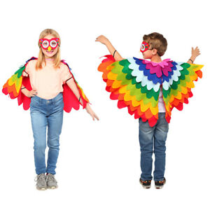 Dress Up America Parrot Costume - Cute, Fun, Flying Parrot Costume for Kids
