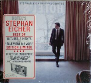 DOUBLE CD DIGIPACK STEPHAN EICHER'S FAVOURITES HOTEL'S  / NEUF / NEW SEALED