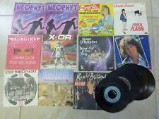 Lot de 16 disques vinyles 45 T TOURS dorothée X-OR Ulysse 31 Lio Dallas