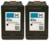 2pk For HP 61XL CH563WN Ink Cartridges For Officejet 2620 4630 4632 4635 8040 80
