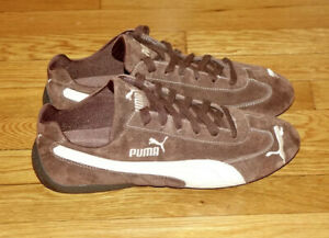 Puma Speed Cat Men's 11 Vintage From Early 2000's (300483 10) Brown Suede