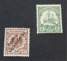 nystamps German South West Africa Stamp # 12,14 Mint OG H $32