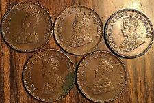 LOT OF 5 1926 INDIA GEORGE V 1/12 ANNA