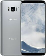 GSM Unlocked Samsung Galaxy S8+ Plus G955U G955U1 Silver T-Mobile AT&T Average