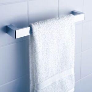 Dorf Motif 700mm single towel rail chrome 2391.04
