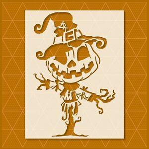 Pumpkin Stencil - Mylar Reusable&Durable - Custom - Halloween Autumn Farm