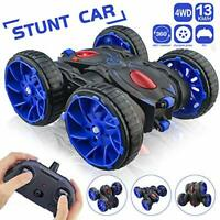 MaxTronic Toy Car Gift for 3-8 Years Old Kids - 360° Flip Remote Control Stunt