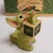 """""""Pd Collector"""" Whimsical World of Pocket Dragons by Real Musgrave with Box"""