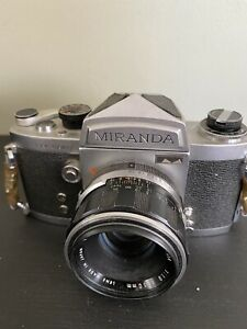 Miranda Sensomat 35mm Film Camera w/ 50mm f/1.8 Lens
