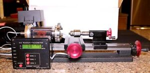 "Sherline 4100A 8"" Metric Plus B with Digital Readout Lathe Package"