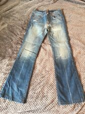 7 For All Mankind Blue Womens Size 24 Boot Cut Jeans $120